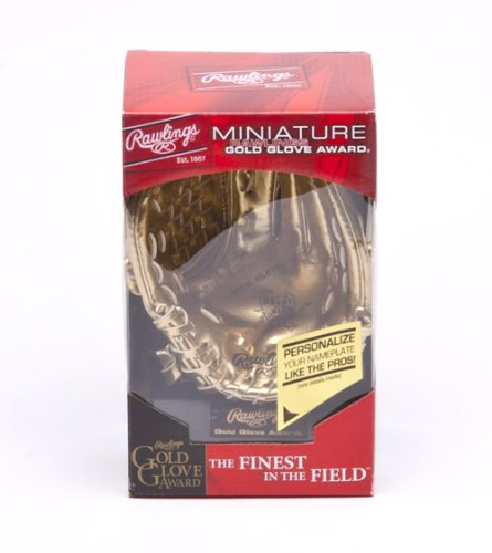 - Rawlings Mini Gold Glove Award Baseball Glove Trophy