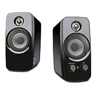 Creative Inspire T10 - 2.0 Desktop Lautsprecher (Stereo/AUX-IN/5 W RMS) schwarz