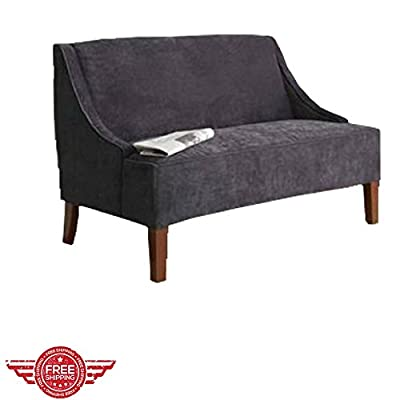 Luxury Lounging Loveseat Livingroom Lounger Classic Elegant Fabric Faux Recliner Sofa Indoor Furniture & E book by Easy2Find.