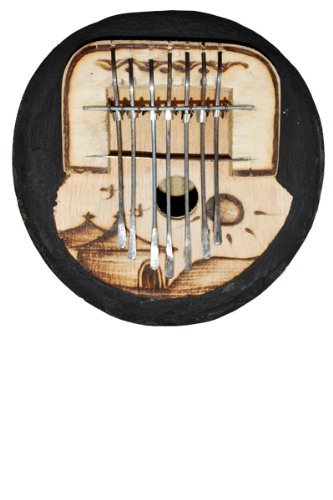 African Gourd Kalimba Mbira Thumb Piano - Tunable! Africa Heartwood Project .org KALG7