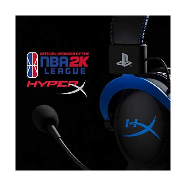 Best Memory Foam Gaming Headset USA HyperX Cloud Black