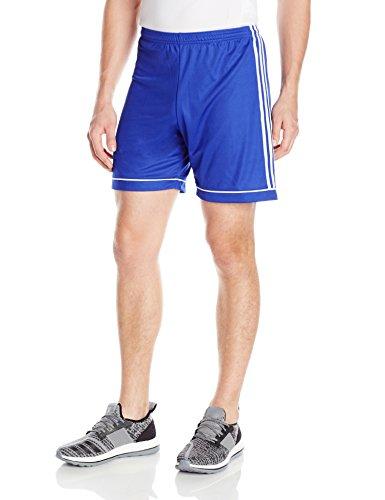 adidas Men's Soccer Squadra 17 Shorts, Bold Blue/White, Small
