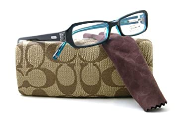 a2b4788f5a11 Image Unavailable. Image not available for. Color: Coach CC 2016 Kitty 414 Navy  Eyeglasses ...