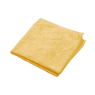 "Microworks 2502-GOLD-DZ Premium Microfiber Towel, 16"" x 16"", Gold (Pack of 12): Industrial & Scientific"