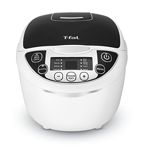 T-fal RK705851 10-In-1 Rice and Multicooker with 10 Automatic Functions and Delayed Timer, 10-Cup, White Review