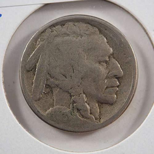 1913 S Buffalo Nickel Nickels Ungraded