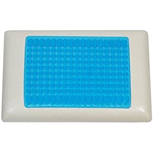 Memory Foam Stay Cool Pillow With Gel