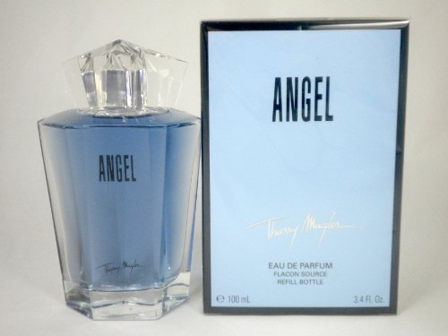 ANGEL EDP FLACON REFILL BOTTLE 3.4 OZ FOR WOMEN (Bottle Flacon)