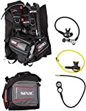 SEAC Nick BC Scuba Regulator Octo Two Gauge Console Dive Gear Package, X-Small