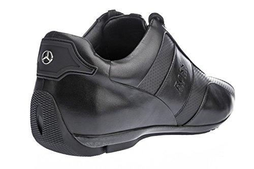 BOSS Hugo Boss Boss Sporty Low Mercedes Benz Collection Herren Sneaker Schwarz Schwarz
