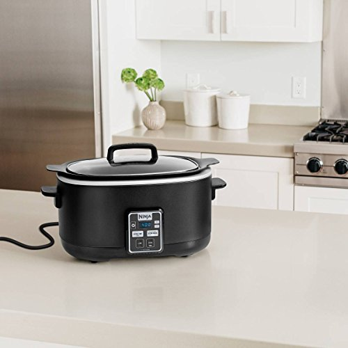 Ninja 2-in-1 Slow Cooker (Slow cooker, Sear/Saute/Brown, 6qt) - MC510 (Cooker Sear With Function Slow)