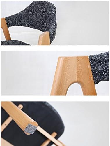 Chaise de salle à manger SLL- Loisure, simple chaise d'ordinateur, chaise de mode moderne (couleur : B)