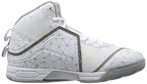 Bright White AND1 Basketball Bright Shoe M Silver Men's Havok White nq8X1