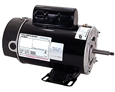 1 hp 3450/1725 RPM 48Y Frame 115V 2-Speed Pool & Spa Electric Motor Century # BN37V1