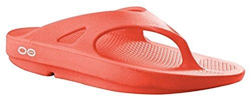 OOFOA|#OOfos Ooriginal Thong, Sandalias Atléticas Mujer Rojo