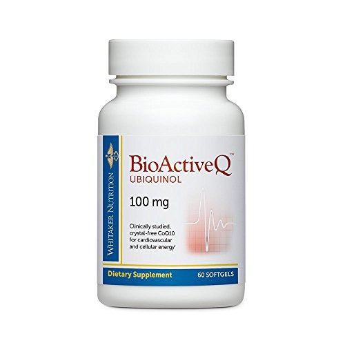 Dr. Whitakers Bioactive Q Ubiquinol 100 mg Delivers Clinically Studied, Highly Bioavailable CoQ10, 60 Softgels (30 - Day Supply)
