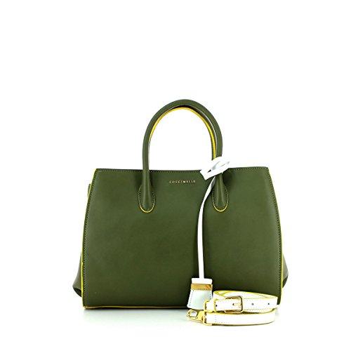 Coccinelle - Bolso de asas para mujer Verde