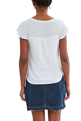 edc by Esprit, Camiseta para Mujer Azul (Pastel Blue)