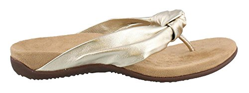 6 Toepost Rest Vionic Size Pippa Womens 5 Sandal Champagne O0zxq6zn