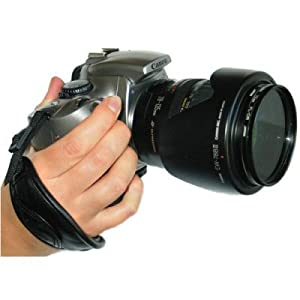 Opteka Professional Wrist Grip Strap for Digital & Film SLR Cameras (Black)