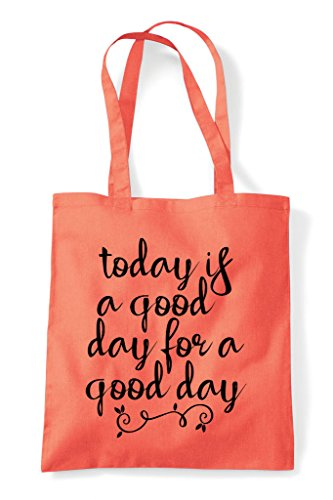 Day Today Positive For Bag Shopper Tote Is Statement Good A Coral qqCZtaw1