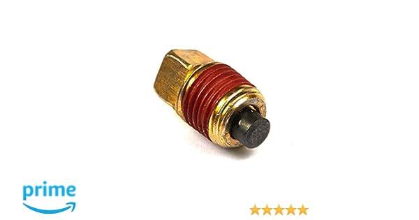 GENUINE BRIGGS /& STRATTON OIL DRAIN PLUG 691680 original Briggs oil drain plug