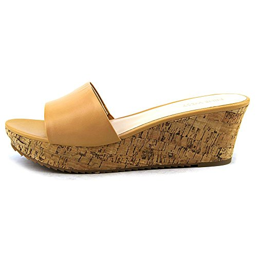 Nine West Confetty Piel Plataformas Natural