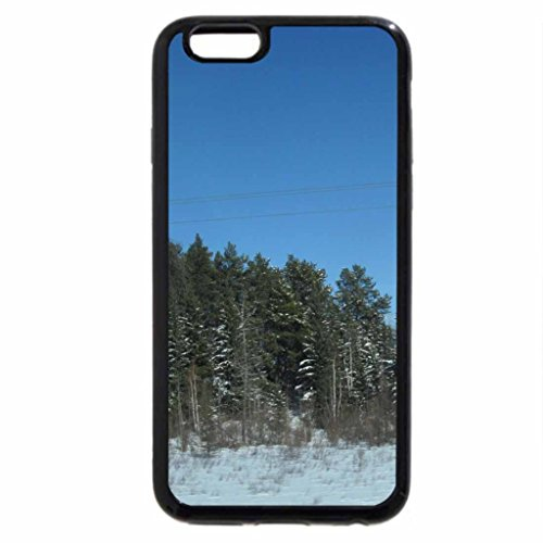 iPhone 6S / iPhone 6 Case (Black) White Winter in March