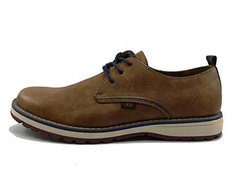 con Cierre 47163 Punta y Tipo Cordón Camel Redonda EN Oxford Zapato HWSRq
