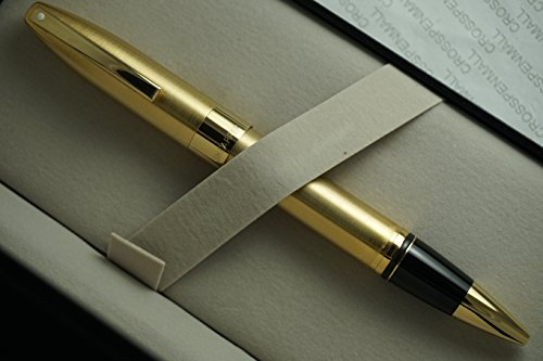 Made in Germany Sheaffer Legacy Heritage Rollerball Pen Brushed 22KT Gold and Featuring 22KT Gold APPOINTMENTS ()