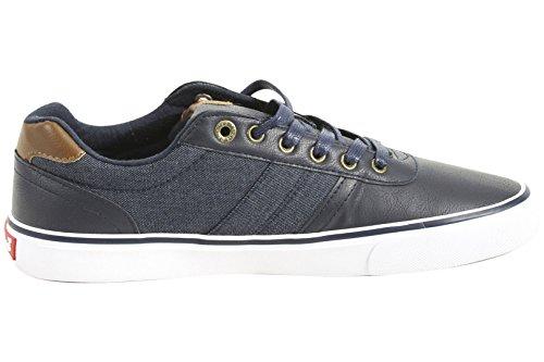 Levis Mens Miles Cacti / Denim Navy Sneakers Shoes Tz: 9.5