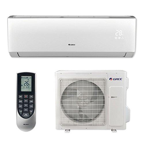 Gree VIR36HP230V1B - 36,000 BTU 18 SEER VIREO+ Wall Mount Ductless Mini Split Air Conditioner Heat...
