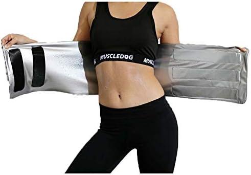 ウエストトリマー減量腹部ベルト、背もたれと腰部のサポート、サウナスーツ効果スリミングボディシェイパースポーツガードルワークアウトベルト減量ワークアウトフィットネスバックサポートベルト