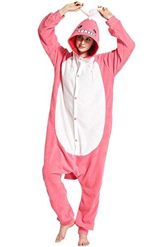 Sale Mascot Costumes Australia For (Apiidoo Unisex Whale One Piece Cosplay Animal Pajamas Costume Pyjamas Hooded Pjs)