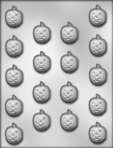 CK Products 1-Inch Jack 'O Lantern Chocolate -