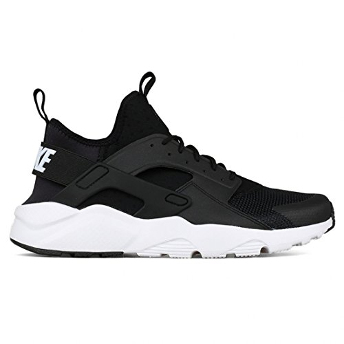 Nike Men's Air Huarache Run Ultra, BLACK/WHITE-ANTHRACITE-WHITE, 7 M US