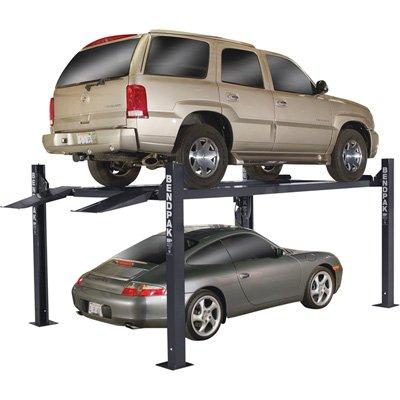 - BendPak 4-Post Lift Wide/Standard Lift - 9000lb. Capacity, Blue, Model# HD-9XL - Four Post Vehicle Lift