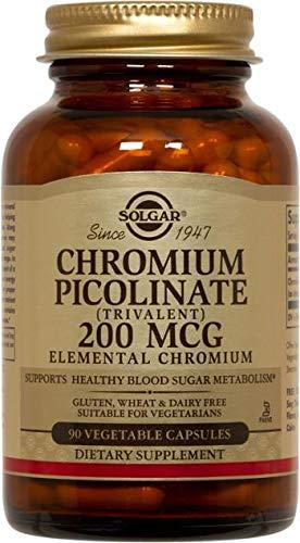 Solgar – Chromium Picolinate 200 mcg, 90 Vegetable -