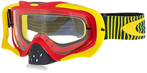 Oakley Unisex-Adult Goggles (Red,