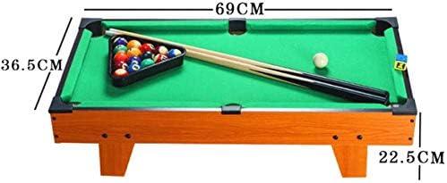 ZJ Mesa de ping pong Billar for Niños Adolescentes ficticio juego multi mesa de juego de la piscina de hockey sobre mesa de ping pong de fútbol for fiestas y sala de