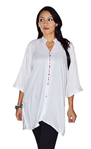 moroccan cotton dresses - 9
