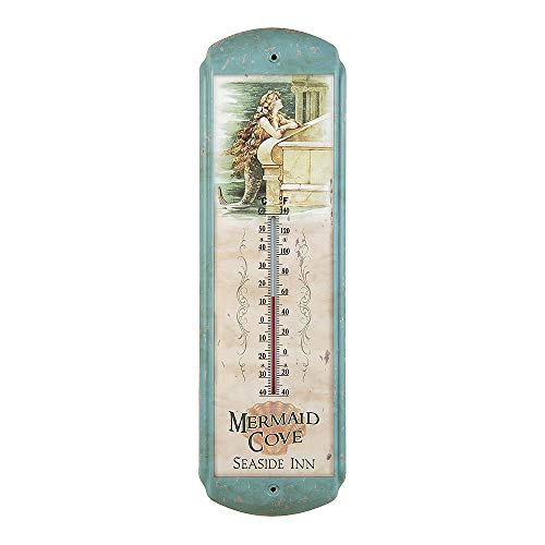 Ohio Wholesale Vintage Mermaid Thermometer, from our Water ()