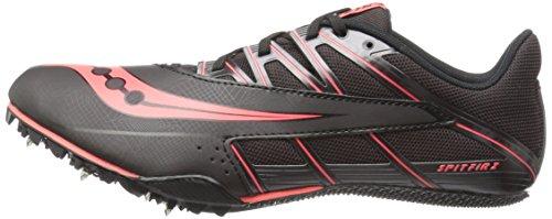 Saucony-Mens-Spitfire-4-Track-Shoe-BlackRed-13-M-US