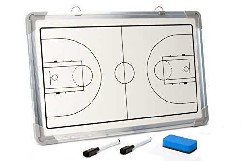 Murray Sporting Goods Magnetic Coaches Dry Erase Marker Board (Basketball)