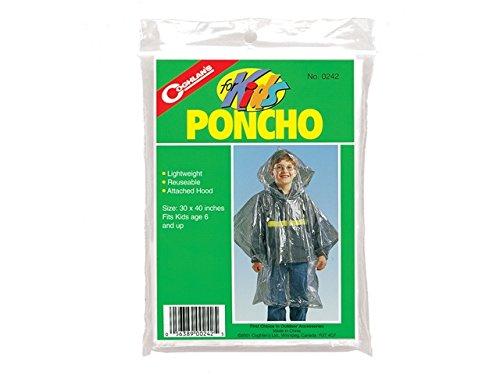 (Kids Rain Poncho)