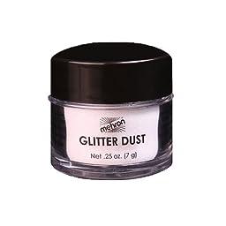 Mehron Glitter Dust - Opalescent White W (0.25 oz/7 gm)