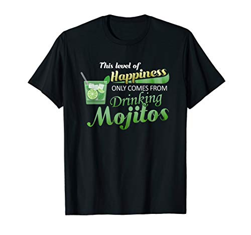 (MOJITOS ARE CUBAN RUM LIME MINT SUGAR COCKTAIL DRINK T-SHIRT)