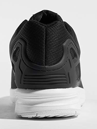 adidas Herren Zx Flux Fitnessschuhe, Schwarz (Negro1/Negro1/Blanco 000), 54 2/3 EU
