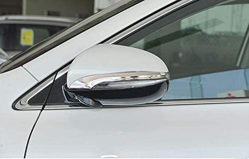 Momoap//New 2pcs ABS Chrome Car Rearview Side Mirror Cover Trim Strip Mirror Decorative Emblems Fit for Kia Sorento 2015 2016 2017 2018 2019
