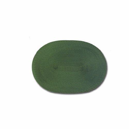 Keller Charles Vinyl Placemats Wipe Clean Set of 4 Green ...